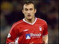 Nottingham Forest midfielder Riccy Scimeca