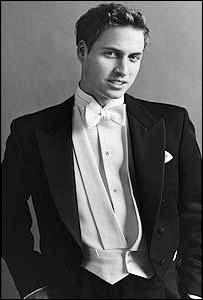 Prince William, photographed by Mario Testino