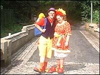 Castlemilk Fair clowns