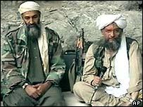 Osama Bin Laden and Ayman al-Zawahri