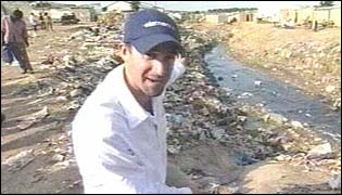 Joseph Fiennes in Angola