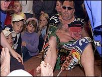 Toe wrestling