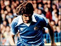 Paul Power in action for City in 1980