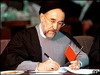President Mohammad Khatami