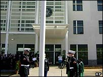 3 March opening of the new US embassy in Nairobi