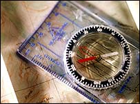 Map and compass, Eyewire