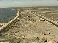 Marshland, southern Iraq (BBC)