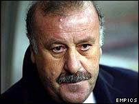 Real Madrid coach Vicente Del Bosque