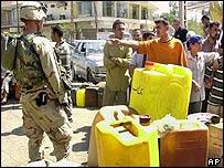 US Soldier in Baghdad