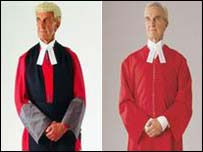 Current court uniform and one option