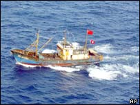 The protest boat