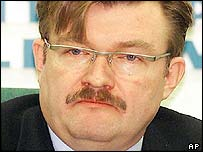 TVS news director Yevgeny Kiselyov