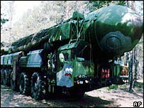 Russian ICBM carrier
