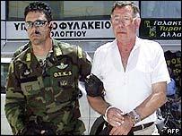 Captain Anatoly Baltak under arrest