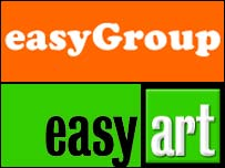 Easygroup and Easyart logos