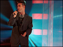 Morrissey on Top of the Pops