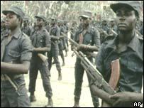 Unita guerrillas