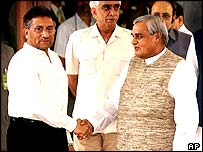 Pakistani-Indian summit: Musharraf and Vajpayee meet but fail to  achieve a breakthrough