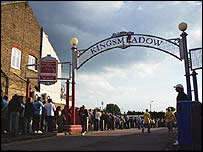 The Kingsmeadow ground AFC Wimbledon are hoping to buy