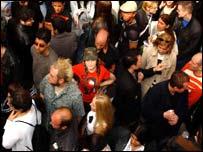 Madonna crowds
