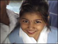 Schoolgirl in Gujarat