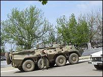 Grozny scene