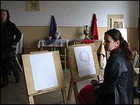 The teacher training institute in Grozny