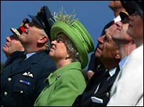 The Queen at Lossiemouth