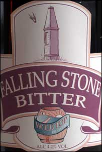 Falling Stone Bitter bottle