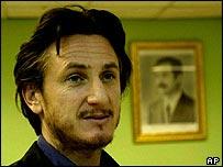 Sean Penn in Baghdad