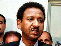 Sudanese Foreign Minister Mustafa Ismail