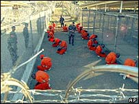January 2002 pictures at Camp X-Ray