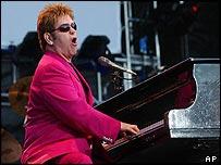 Sir Elton John in Budapest