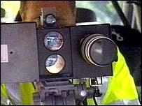 Mobile speed cameras