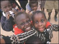 Zambian Aids orphans