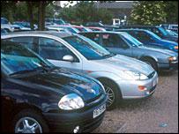 A car park