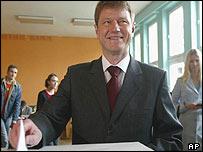 Lithuanian President Rolandas Paksas
