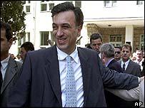 Presidential candidate Filip Vujanovic