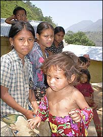 Children of indigenous people
