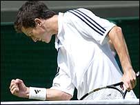 Tim Henman didn't look on top form