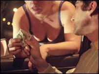 Prostitution scene