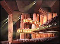 Artist's drawing of Prince of Wales auditorium