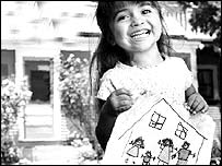 A little girl from a Freddie Mac advertisement