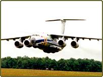 Il-76 Ilyushin transport plane