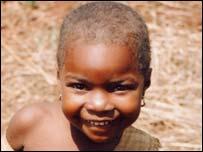 Somali Bantu girl in Tanzania