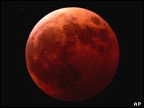 A lunar eclipse, AP