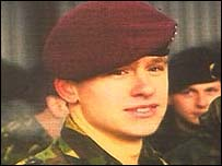 Lance Corporal Thomas Richard Keys