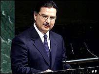 Guatemalan President Alfonso Portillo Cabrera