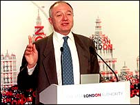 Mayor Ken Livingstone