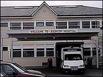Leighton Hospital, in Crewe